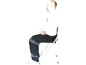 Seated meditation posture